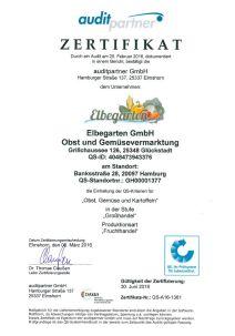 QS Zertifikat 19.08